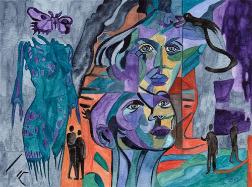 Nebuleuse, Malerei, Surreal