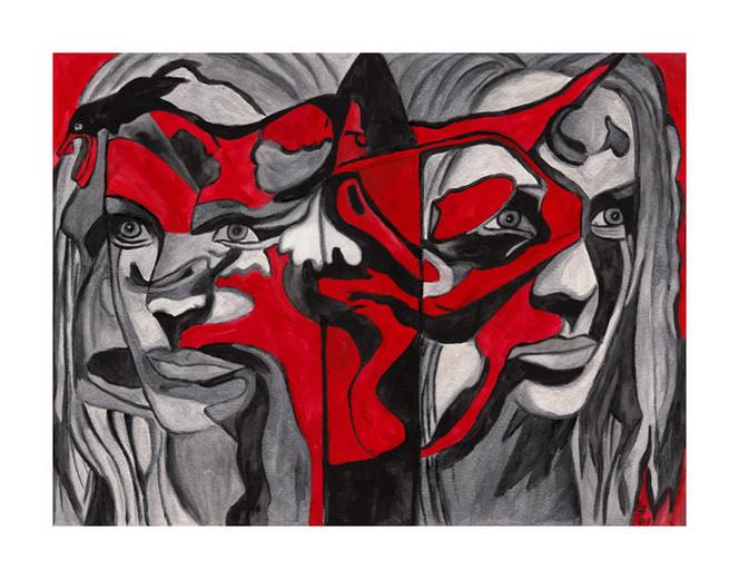 Malerei, Surreal, Streit