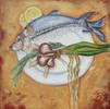 Gaststätte, Rosmarin, Esszimmer, Fisch