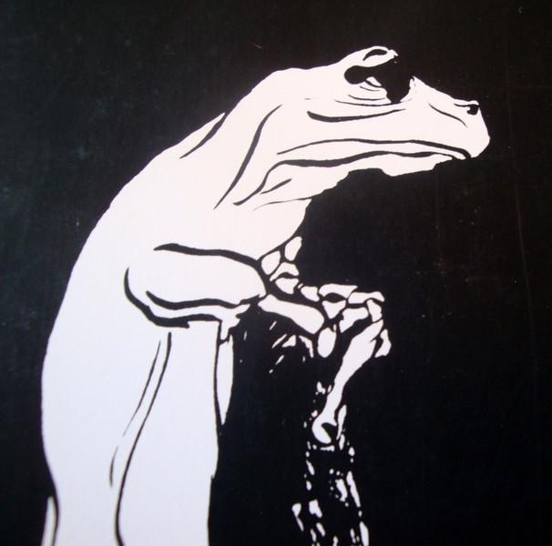 Zeichnungen, Linke, Frosch, Grafik