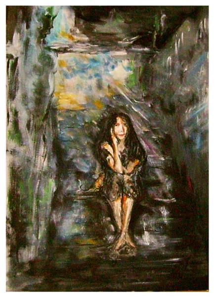Acrylmalerei, Gedanken, Malerei