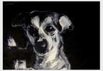 Seele, Hund, Malerei, Figural