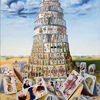 Zeitgenössische kunst, Surreal, Expressionismus, Malerei
