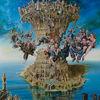 Surreal, Babylon, Malerei, Figural
