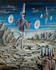 Surreal, Akrobatik, Zeitgenössische kunst, Malerei