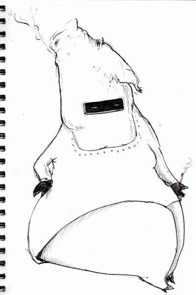 Zeichnungen, King