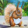 Acrylmalerei, Sommer, Tiere, Malerei