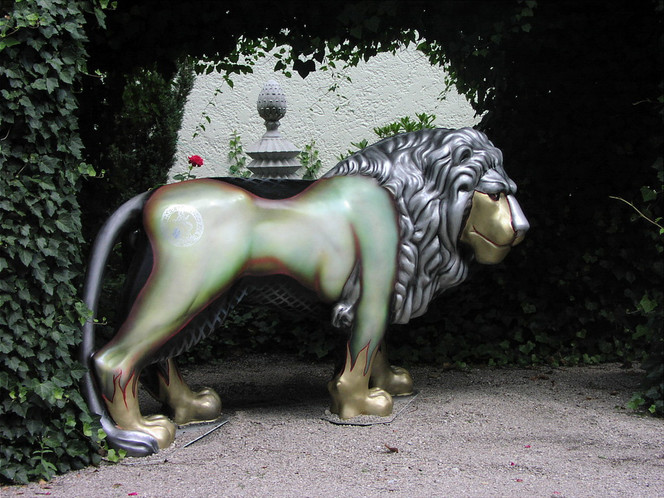 Parade, Tiermalerei, Kunstwerk, Arkade, Phantastik, Presse