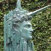 Bronze, Avantgarde, Einhornmann, Fantastische architektur