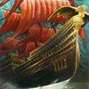 Wasser, Fliegendes schiff, Ruderboot, Gemäldegalerie