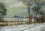 Zeichnungen, Winterlandschaft