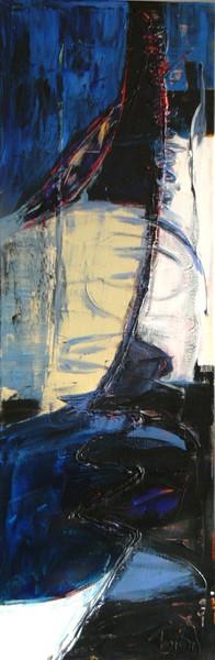 Malerei, Abstrakt, Wind