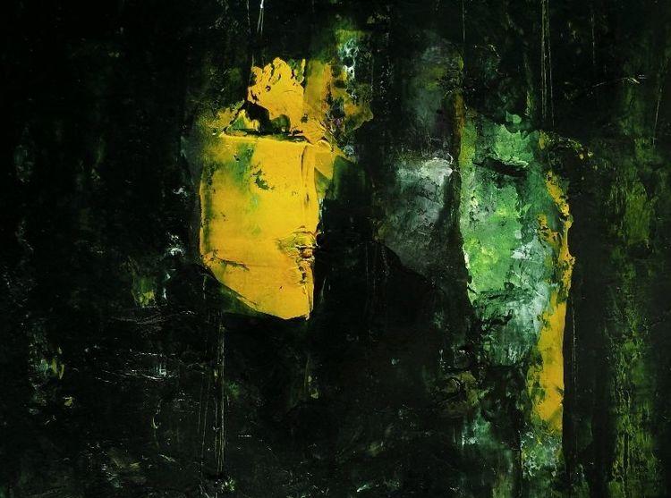 Dunkel, Gesicht, Profil, Maske, Gasse, Malerei