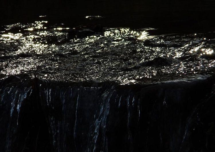 Wasserfall, Licht, Sonnenlicht, Glitzern, Fotografie, Wasser