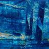 Mittelblau, Dunkelblau, Hellblau, Malerei