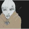 Gesicht, Mantel, Ausdruck, Dunkel