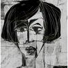 Weiblich, Blick, Tristesse, Gesicht