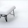 Tisch, Weiß, Formular, Schnee
