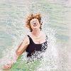 Baden, Splash splash, Im wasser, Malerei