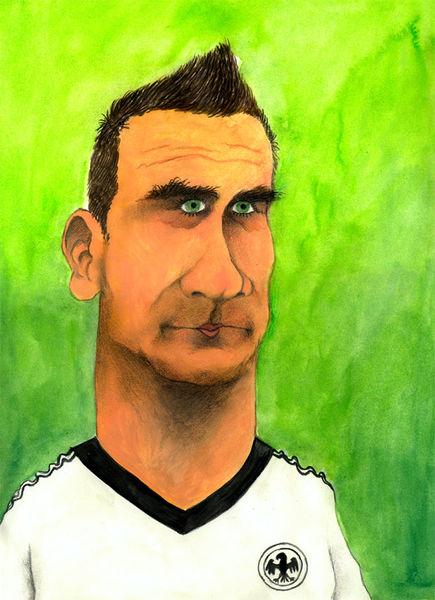 Wm, Karikatur, Fußball, Cartoon, Deutschland, Zeichnungen