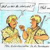 Bundeswehr, Karikatur, Cartoon, Zeichnungen