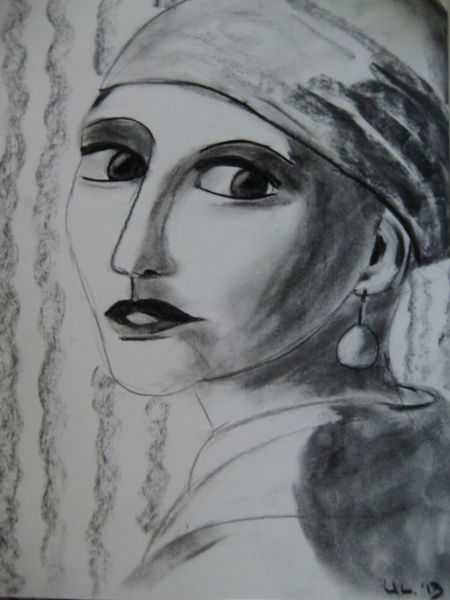 Zeichnungen, Mädchen, Augen