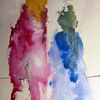 Aquarellmalerei, Nass, Menschen, Aquarell