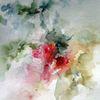 Schicht, Pflanzen, Aquarellmalerei, Nass