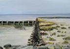 Nordsee, Meer, Acrylmalerei, Landschaft