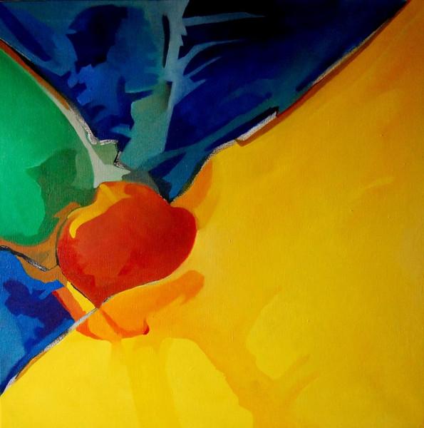 Ölmalerei, Malerei, Abstrakt, Watt