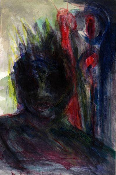 Nacht, Surreal, Kalt, Malerei