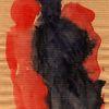 Nacht, Rot, Surreal, Abstrakt