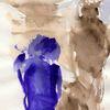 Abstrakt, Kalt, Blau, Surreal