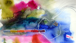 Malerei, Abstrakt, Siedlung