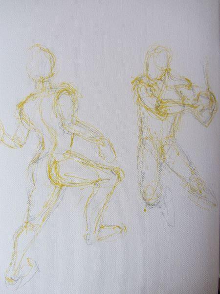 Zeichnungen, Bewegung