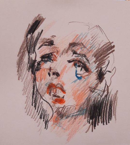 Farben, Emotion, Menschen, Zeichnungen