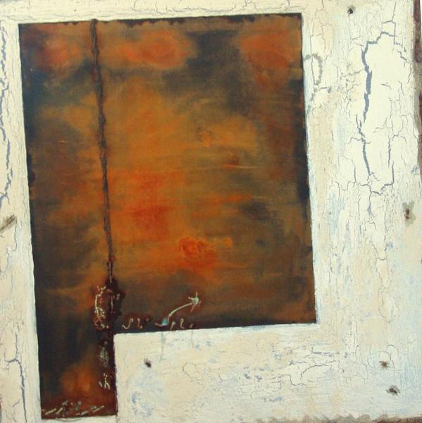 Rost, Beige, Alt, Malerei, Abstrakt