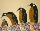 Acrylmalerei, Pinguin, Malerei, Tiere