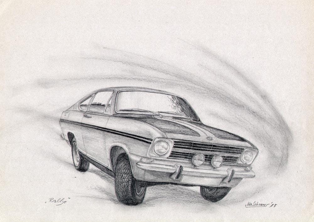 Ziemlich Wie Man Eine Skizze Eines Autos Zeichnet Zeitgenössisch ...