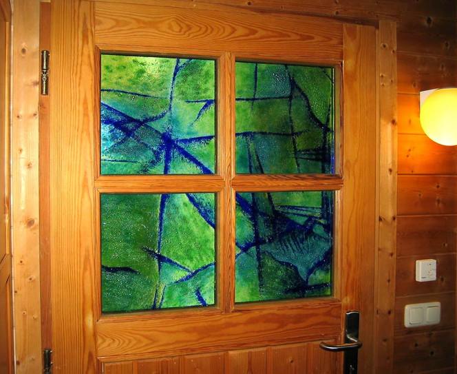 Glas, Haustürverglasung, Nadine, Fusing, Glasdesign, Fusingglas