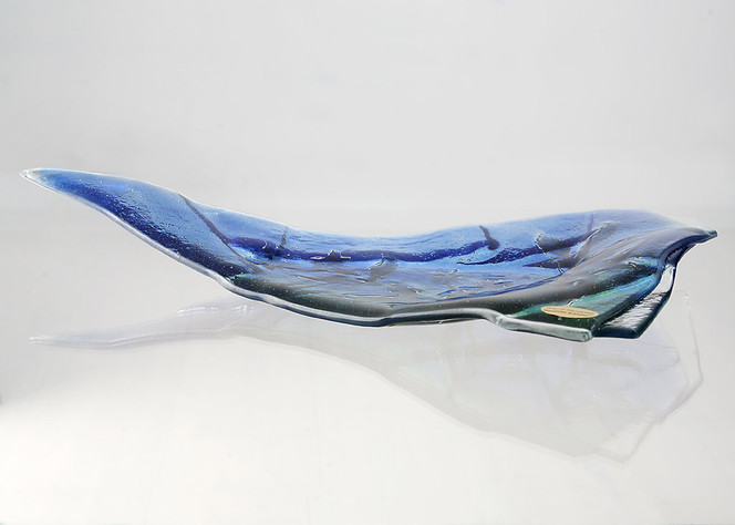 Glasdesign, Fusingglas, Schale, Glasschale, Fusing, Glas