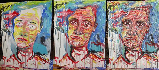 Malerei, Entstehung
