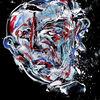 Gesicht, Expressionismus, Malerei
