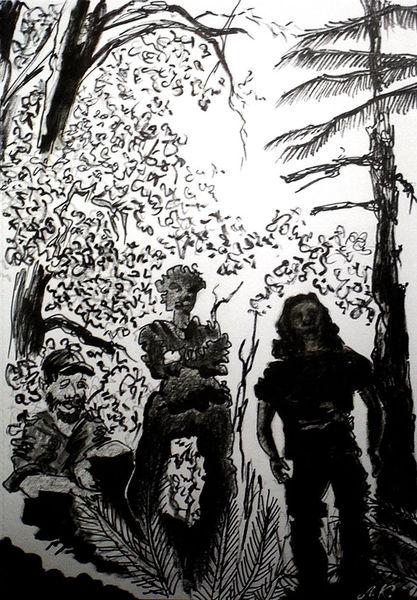Wald, Black metal, Meditation, Menschen, Band, Musik