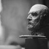 Hell, Keramik, Portraitbüste, Dunkel