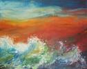 Wasser, Feuer, Malerei