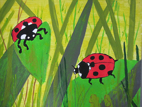 Grün, Käfer, Natur, Beatle, Malerei