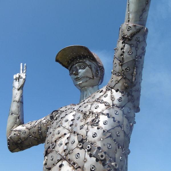 Frieden, Metallkunst, Skulptur, Flodin, Monument, Festival