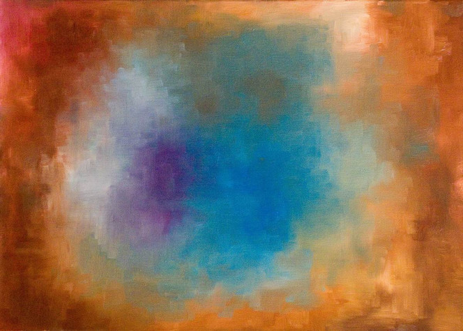 Farben, Weltall, Galaxie, Blau, Nebel, Abstrakt