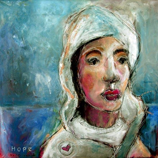 Hoffnung, Malerei, München, Illustration,